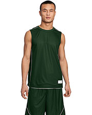 Sport-Tek® T555 Men PosiCharge® Mesh Reversible Sleeveless Tee at GotApparel