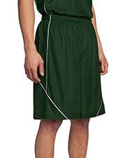 Sport-Tek® T565 Men PosiCharge® Mesh Reversible Spliced Short at GotApparel