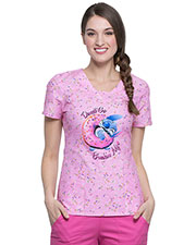 Tooniforms TF641 Women V-Neck Top    at GotApparel