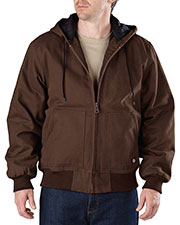 Dickies TJ245 Men Sanded Duck Hooded Jacket at GotApparel