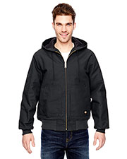 Dickies Workwear TJ718 Adult 10 Oz. Hooded Duck Jacket at GotApparel