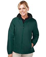 Tri-Mountain 8860 Women Sequel Long-Sleeve With Water Resistant Jacket at GotApparel