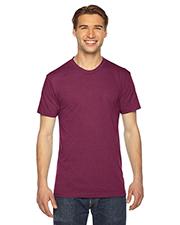 Custom Embroidered American Apparel TR401W Men 3.7 oz Triblend Short-Sleeve Track T-Shirt at GotApparel