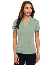Tri-Mountain 156 Women Vision Ultracool Pique Y-Neck Short-Sleeve Golf Shirt at GotApparel