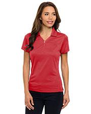 Tri-Mountain 156 Women Vision Ultracool Pique Y-Neck Short-Sleeve Golf Shirt at GotApparel
