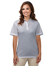 Tri-Mountain 302 Women Assistant Easy Care Knit Short-Sleeve Cook Shirt at GotApparel