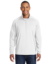Sport-Tek® TST850 Men Tall Sportwick Stretch 1/4-Zip Pullover at GotApparel