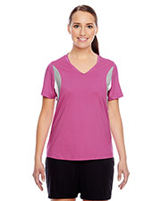 Team 365 TT10W Women Short-Sleeve V-Neck All Sport Jersey at GotApparel