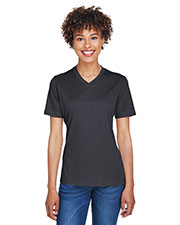 Team 365 TT11HW Women 3.8 oz Sonic Heather Performance T-Shirt at GotApparel