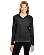 Team 365 TT11WL Women Zone Performance Long-Sleeve T-Shirt at GotApparel