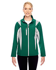 Team 365 TT82W Women Icon Colorblock Soft Shell Jacket at GotApparel