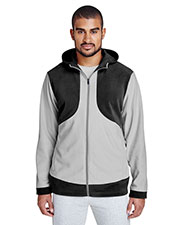 Team 365 TT94 Men Rally Colorblock Microfleece Jacket at GotApparel