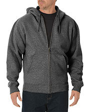 Dickies TW391 Unisex Midweight Fleece Full Zip Hoodie at GotApparel