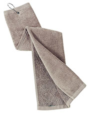 Port Authority TW50 Unisex Grommeted Trifold Golf Towel at GotApparel