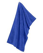 Port Authority TW530 Men Grommeted Microfiber Golf Towel at GotApparel