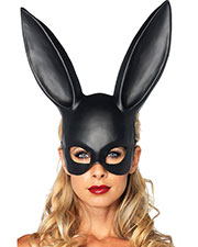 Halloween Costumes UA2628BK Unisex Mask Rabbit Black at GotApparel
