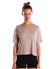 US Blanks US309 Ladies 4.2 oz Boxy Open Neck Top at GotApparel