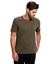 US Blanks US4000G Men Supima Garment-Dyed Crewneck T-Shirt at GotApparel