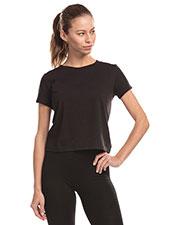 US Blanks US521 Women Short Sleeve Crop T-Shirt at GotApparel