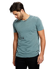 US Blanks US5524G Unisex Pigment-Dyed Destroyed T-Shirt at GotApparel