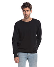 US Blanks US8000G Men Garment-Dyed Heavy French Terry Crewneck Sweatshirt at GotApparel