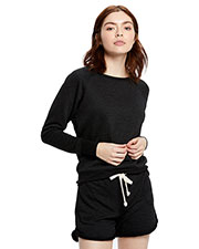 US Blanks US870 Women French Terry Raglan Boat Neck at GotApparel