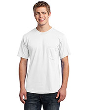 Port & Company USA100P Men All American Tee With Pocket at GotApparel