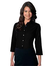 Van Heusen VANH0527 Women 's Easy-Care Dress Twill Shirt at GotApparel