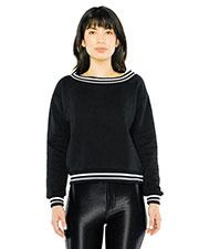 Custom Embroidered American Apparel VT4397W Women Heavy Terry Sport Sweatshirt at GotApparel