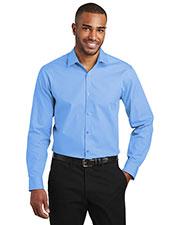 Port Authority W103 Men 3.3 oz Carefree Poplin Shirt at GotApparel