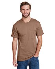 Hanes W110 Adult 5 oz Workwear Pocket T-Shirt at GotApparel