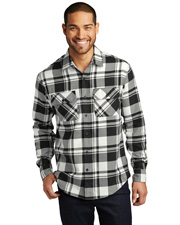 Port Authority W668 Men Flannel Shirt       at GotApparel
