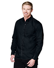 Tri-Mountain W700LS Men Regal Long-Sleeve Woven Shirt at GotApparel