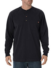 Dickies WL451T Men Tall Long-Sleeve Heavyweight Henley at GotApparel