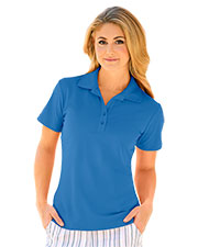 Greg Norman WNS3K445 Women S Play Dry Performance Mesh Polo at GotApparel