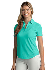 Greg Norman WNS8K466 Women 's  Play Dry Foreward Series Polo at GotApparel