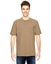 Dickies Workwear WS451 Adult Heavyweight Work Henley at GotApparel