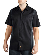 Dickies WS508 Men Two-Tone Short-Sleeve Work Shirt at GotApparel