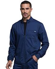 Cherokee Workwear WW320 Men Zip Front Jacket   at GotApparel