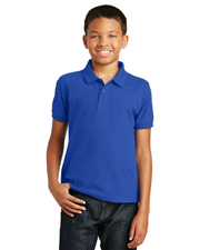 Port Authority Y100 Boys   Youth Core Classic Pique Polo at GotApparel