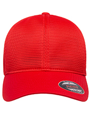 Flexfit Y360 Men 360 Omnimesh Stretch Fitted Cap at GotApparel