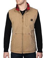 Walls Outdoor YE341 Unisex Vintage Pecos Duck Vest at GotApparel