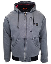 Walls Outdoor YJ339T Unisex Tall Vintage Duck Hooded Jacket at GotApparel