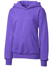 Clique Basics YRK02001 Girls Fleece Pullover Hoodie at GotApparel
