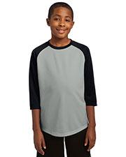 Sport-Tek® YST205 Boys PosiCharge®  Baseball Jersey at GotApparel
