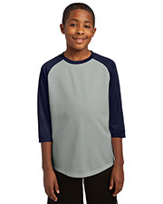 Sport-Tek® YST205 Boys PosiCharge®  Baseball Jersey at GotApparel