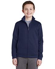 Sport-Tek® YST241 Boys Fleece Full-Zip Jacket at GotApparel