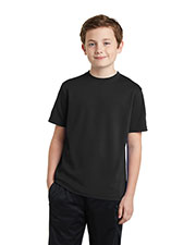 Sport-Tek® YST340 Boys   Youth PosiCharge®  Racermesh  Tee at GotApparel