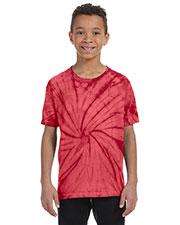 Tie-Dye CD100Y Boys 4.5 oz. 100% Cotton T-Shirt at GotApparel