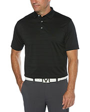 Callaway CGM451 Men 's Ventilated Striped Polo at GotApparel